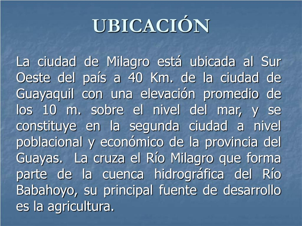 UBICACIÓN
