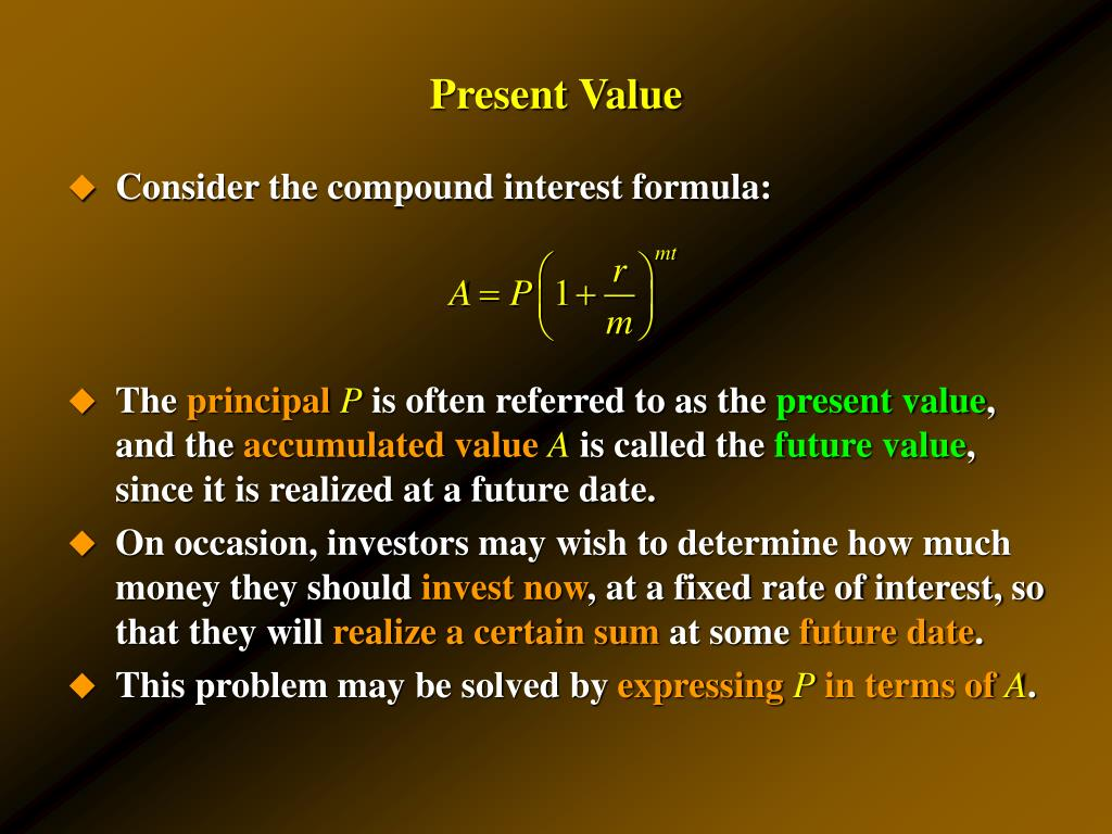 PPT - Compound Interest Annuities Amortization and Sinking ...