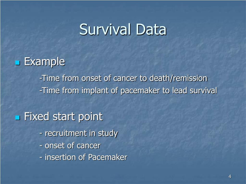 Survival Data