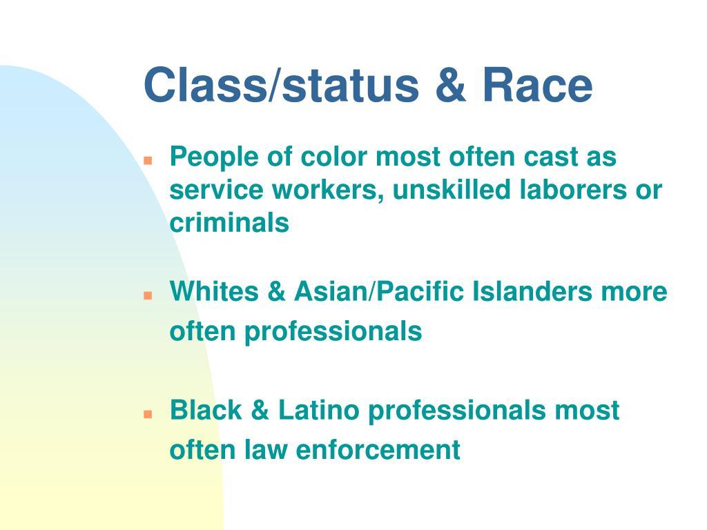 Class/status & Race