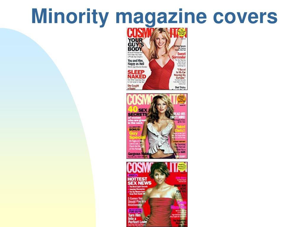 Minority magazine covers