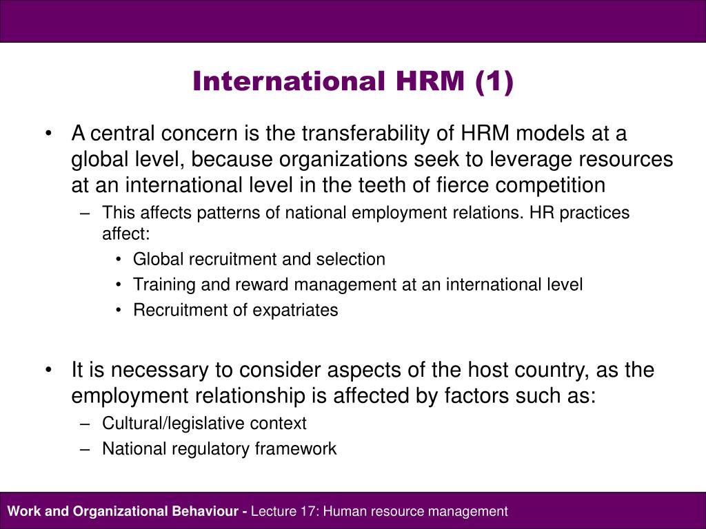 the strategic hrm debate and the Recently published articles from human resource management review.