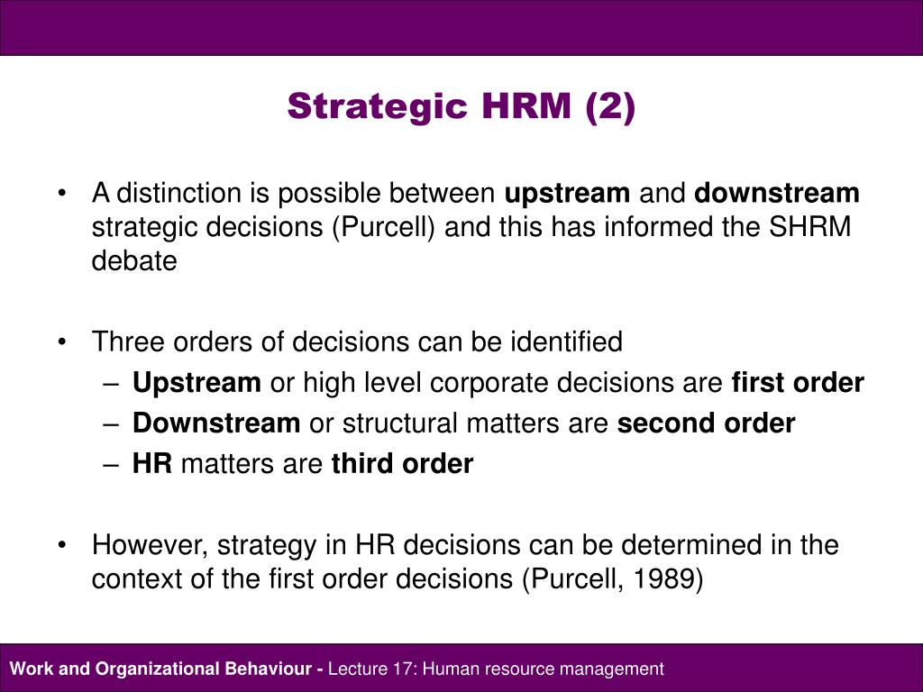 hrm relates to the management This chapter covers key concepts related to project human resource management the knowledge area of project human resource management consists of the following processes.