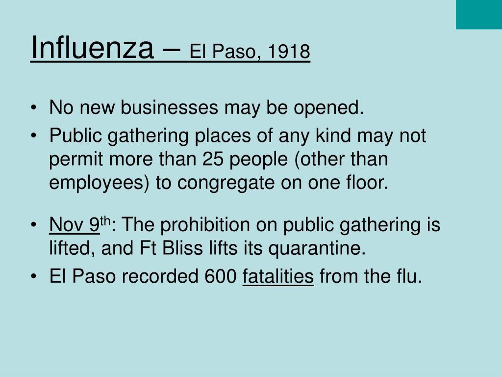 Influenza –