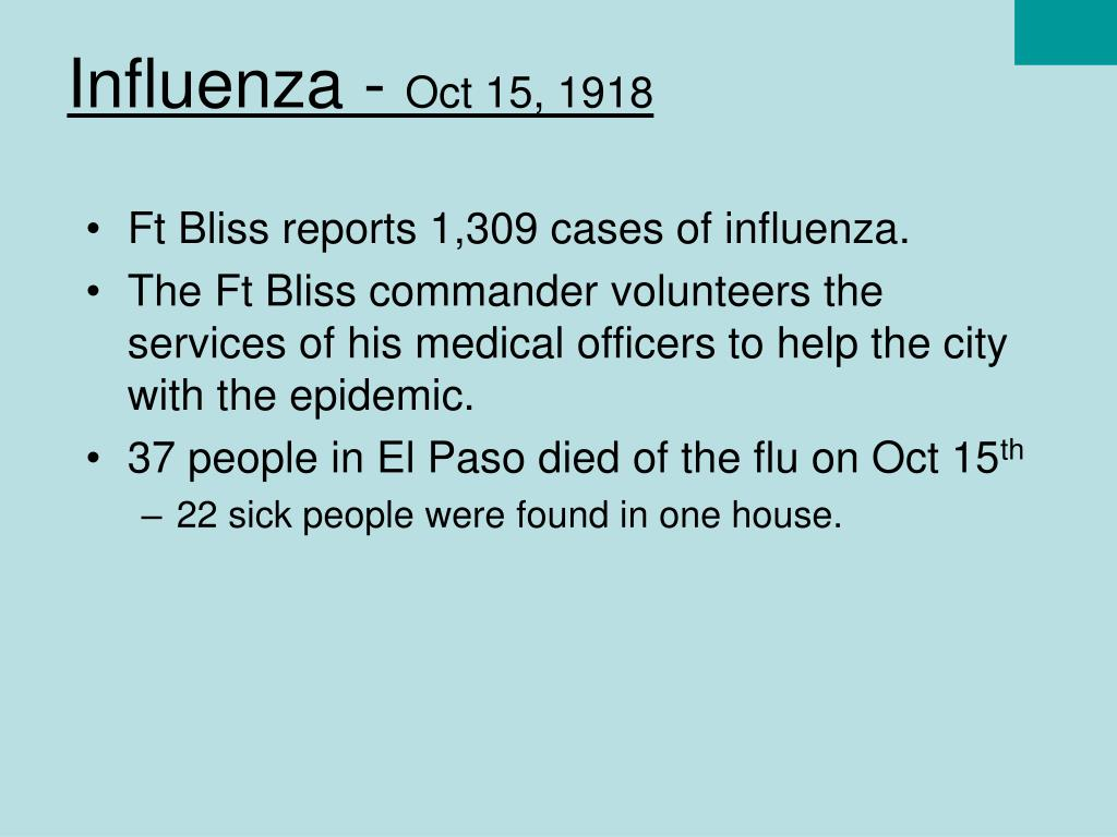 Influenza -