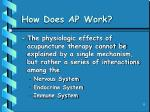 how does ap work