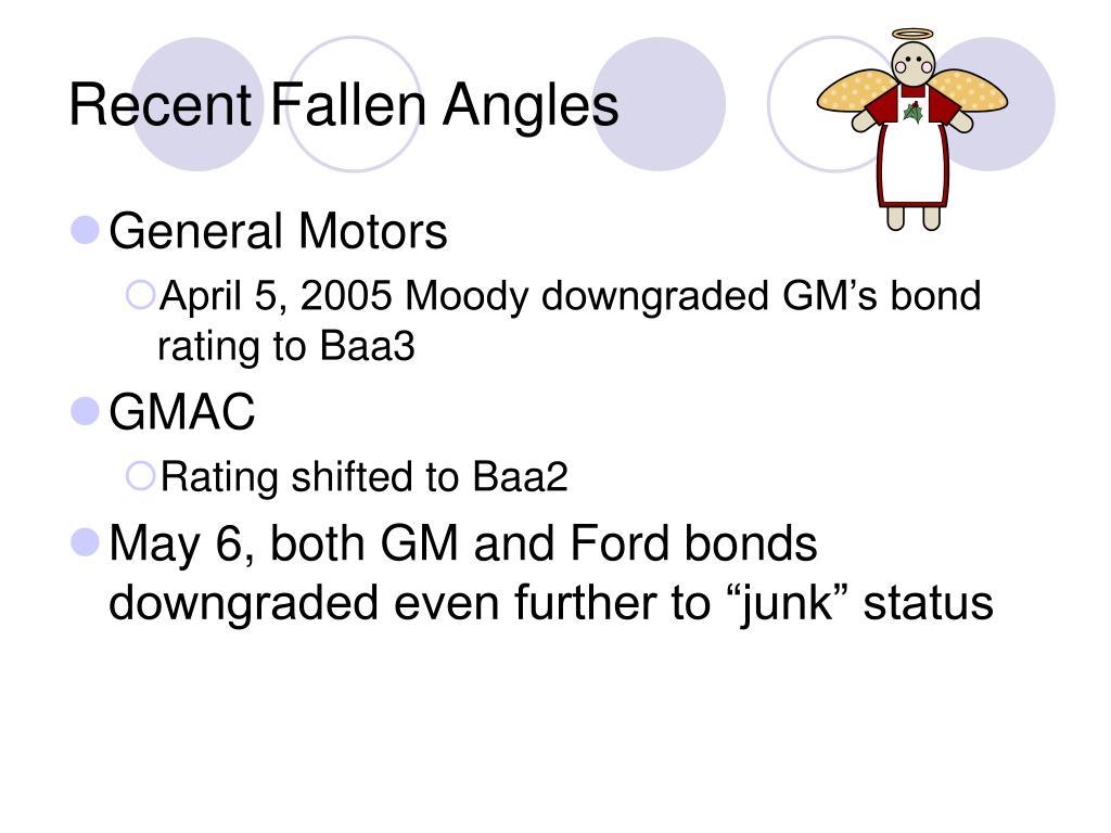 Recent Fallen Angles