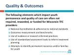 quality outcomes