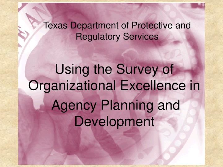 Prs and the survey of organizational excellence l.jpg