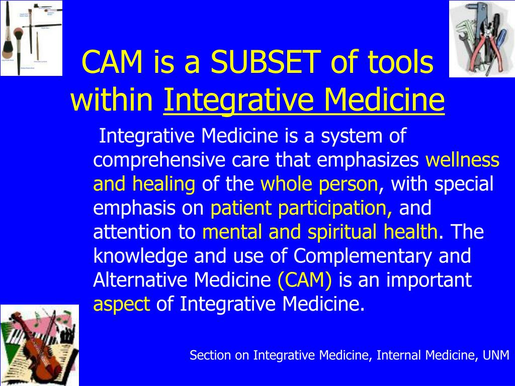 CAM is a SUBSET of tools within