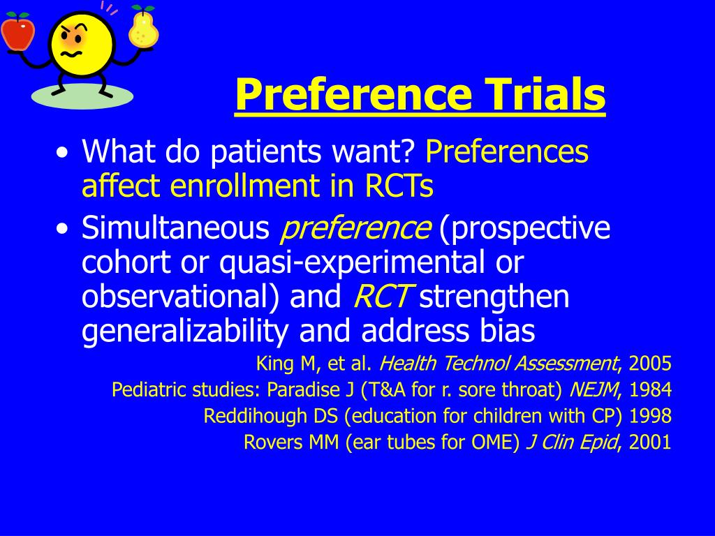 Preference Trials