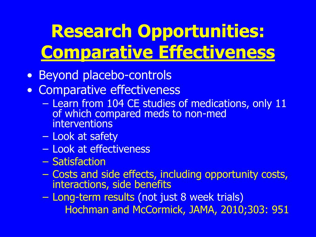 Research Opportunities: