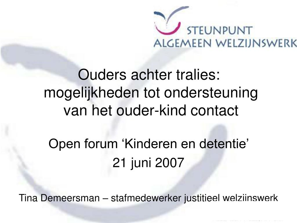 Ouders achter tralies:
