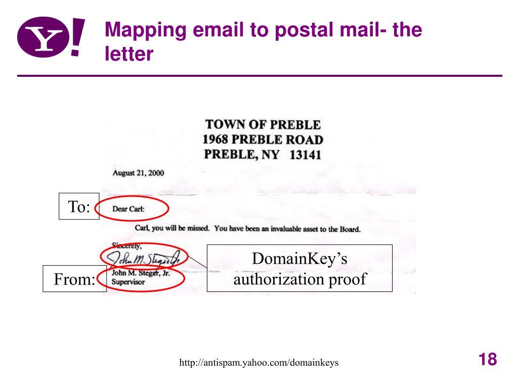 DomainKey's authorization proof