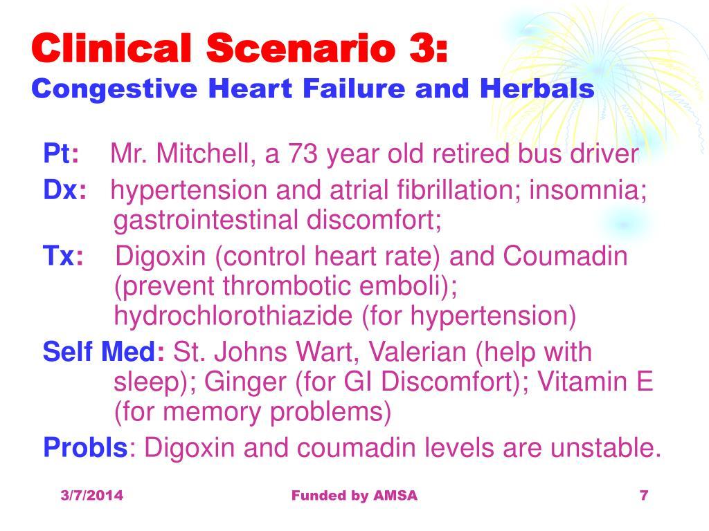 Clinical Scenario 3: