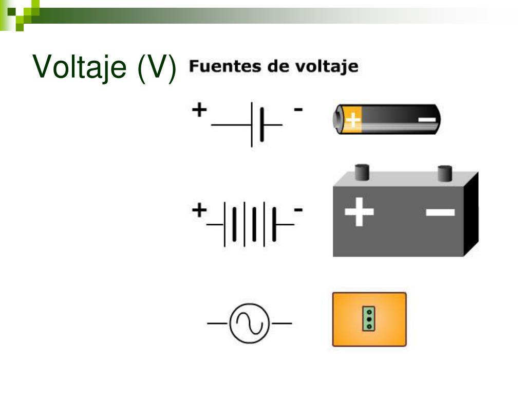 Voltaje (V)