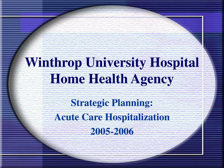 Home Health Agency Business Plan