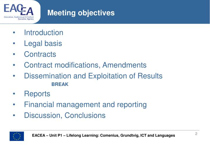 Meeting objectives l.jpg