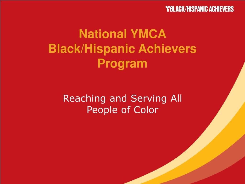 national ymca black hispanic achievers program