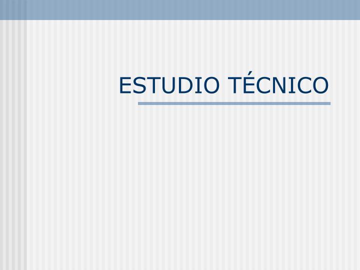 ESTUDIO T