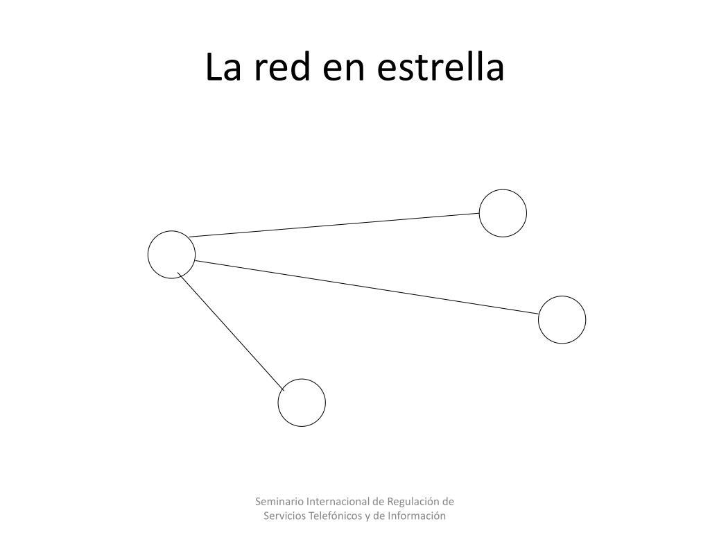 La red en estrella