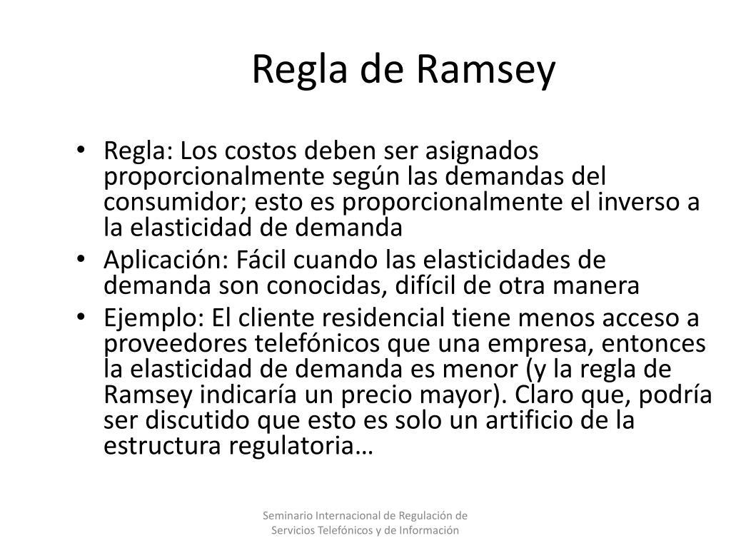 Regla de Ramsey