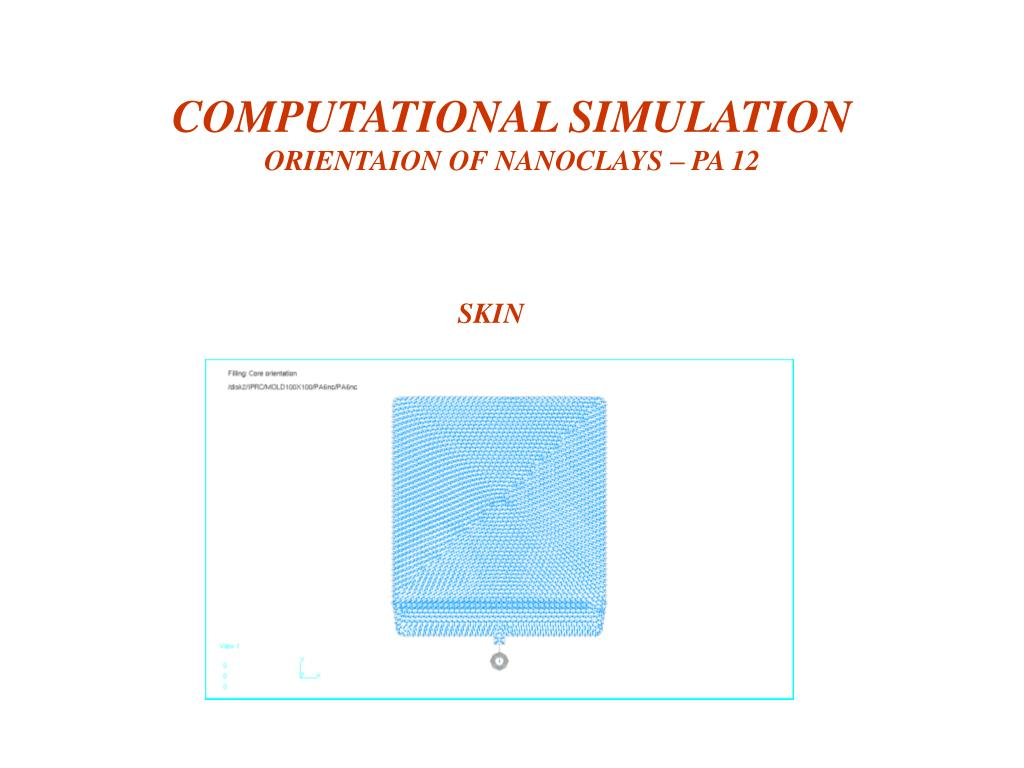 COMPUTATIONAL SIMULATION