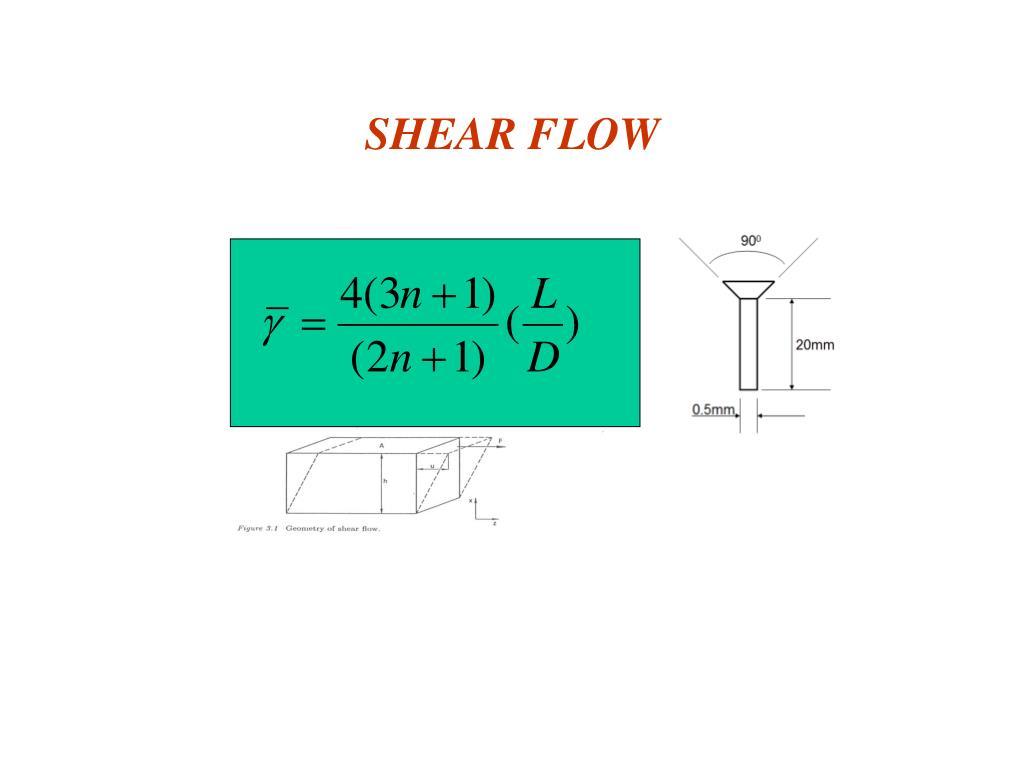SHEAR FLOW