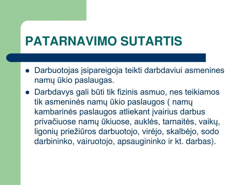 PATARNAVIMO SUTARTIS
