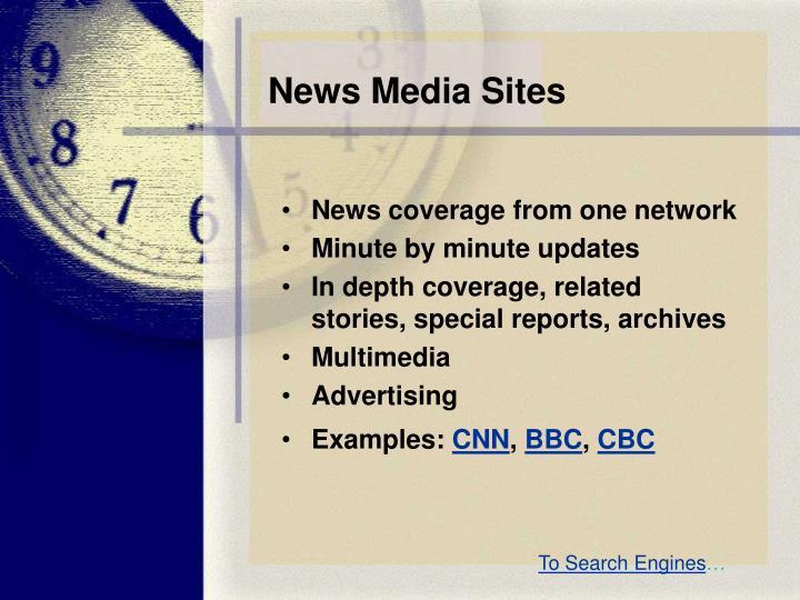 News Media Sites