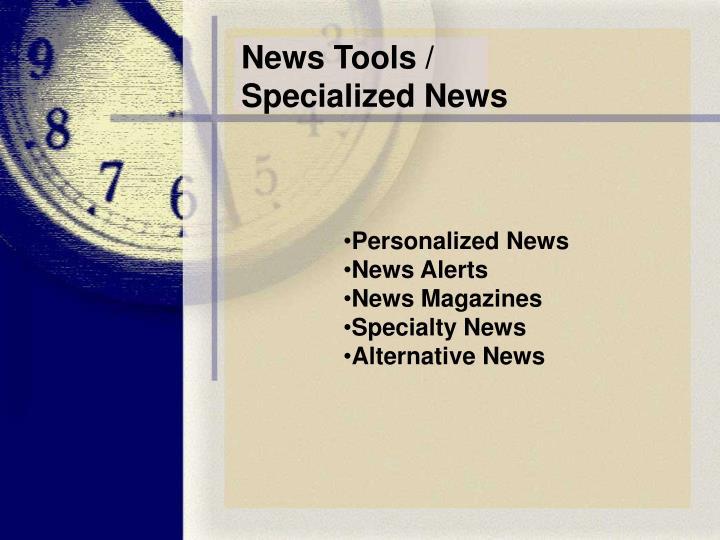 News Tools /
