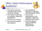 other useful performance guidelines 2