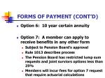 forms of payment cont d35