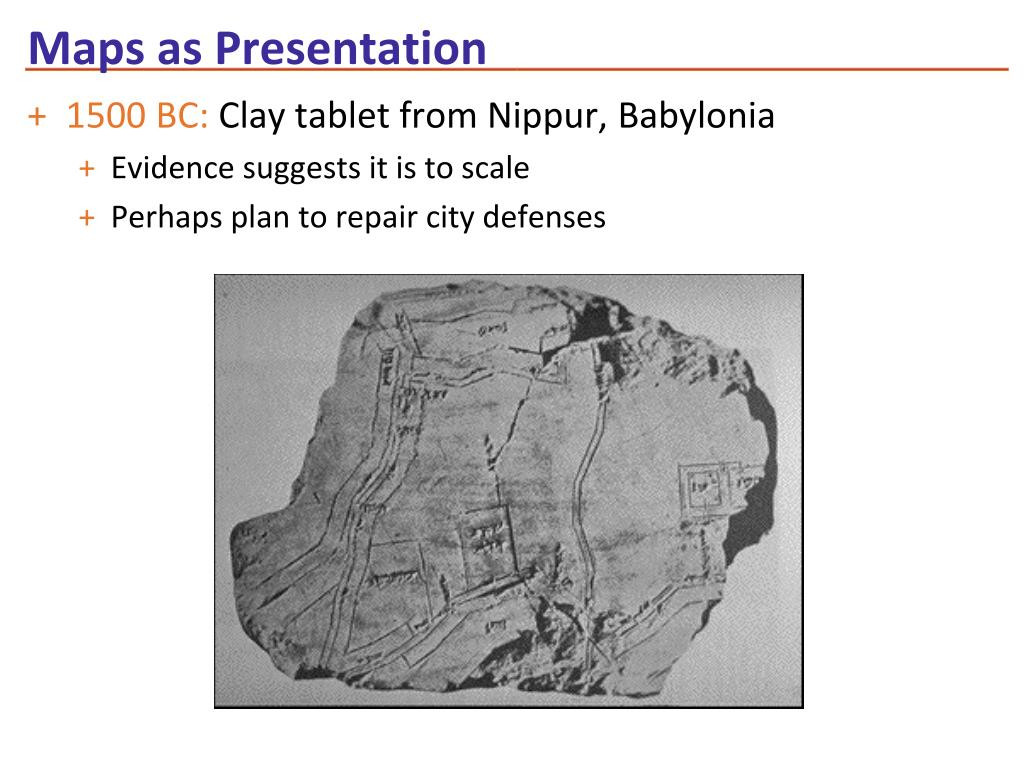 Maps as Presentation