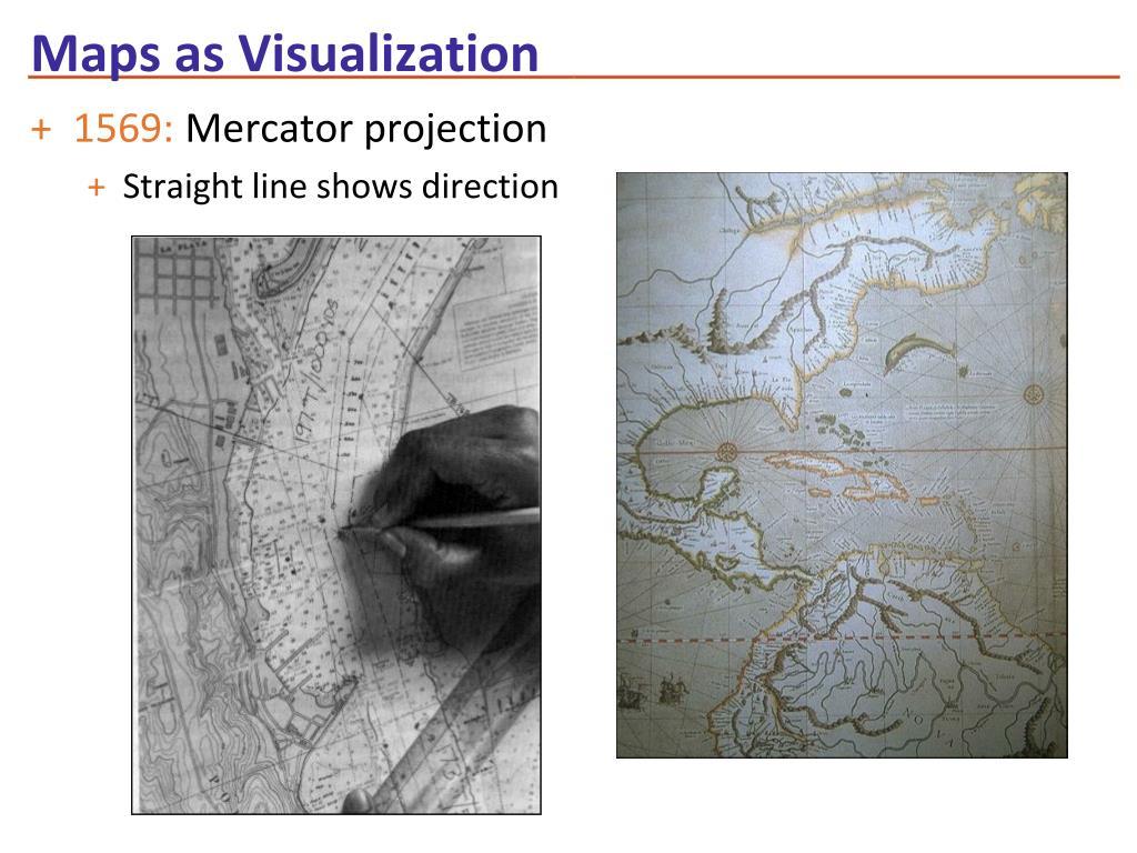 Maps as Visualization