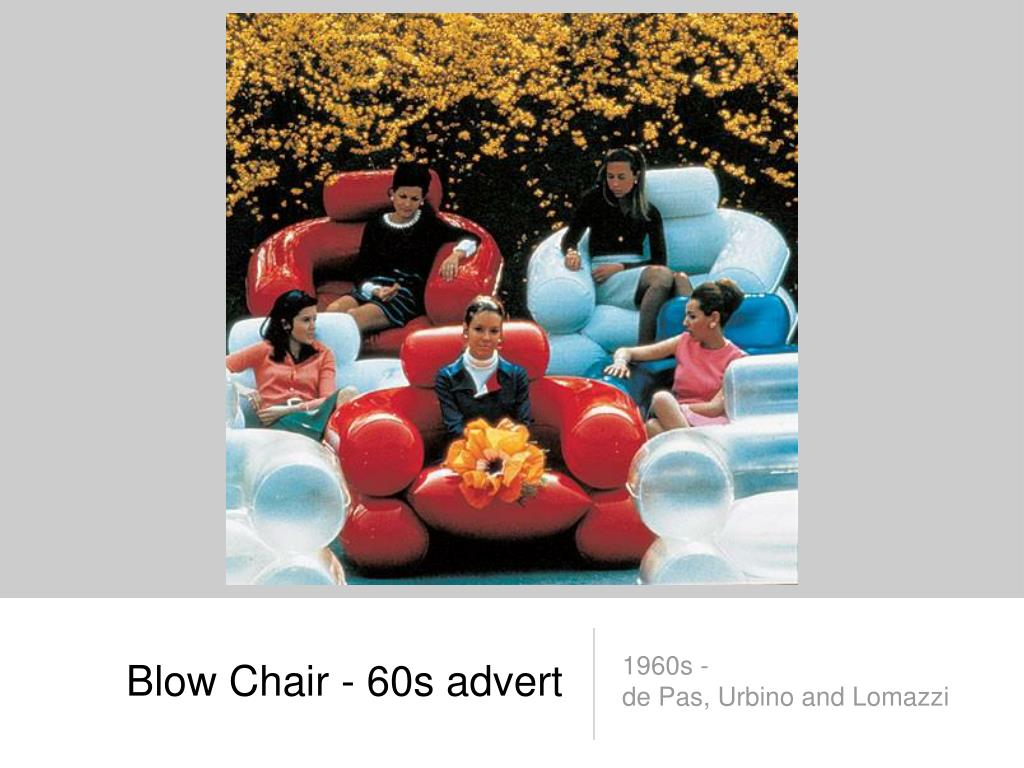 Blow Chair - 60s advert