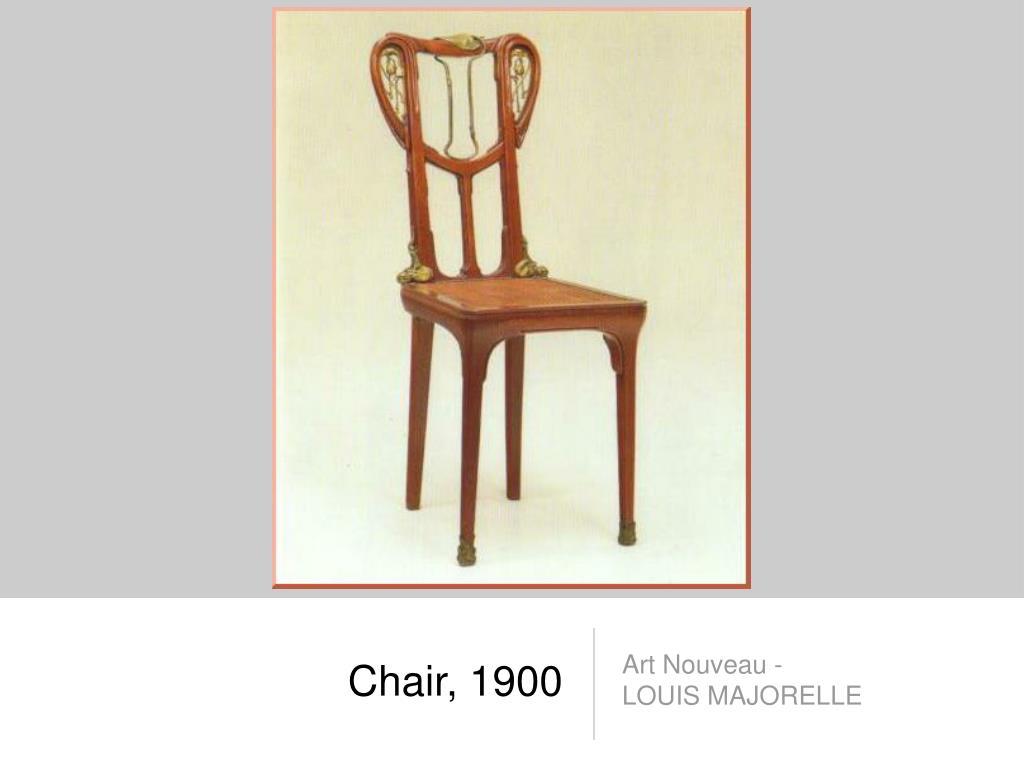 Chair, 1900