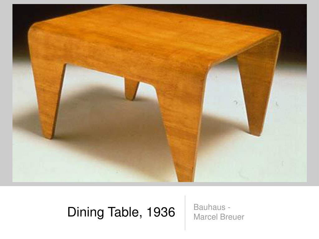 Dining Table, 1936