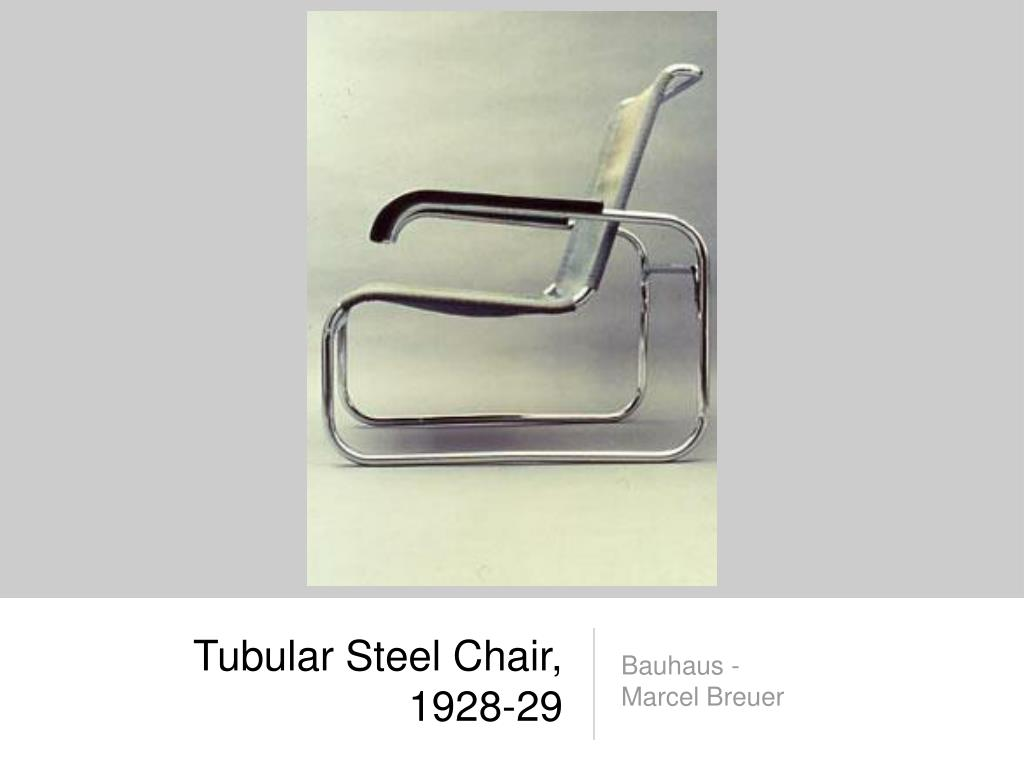 Tubular Steel Chair, 1928-29