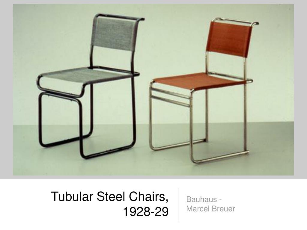 Tubular Steel Chairs, 1928-29