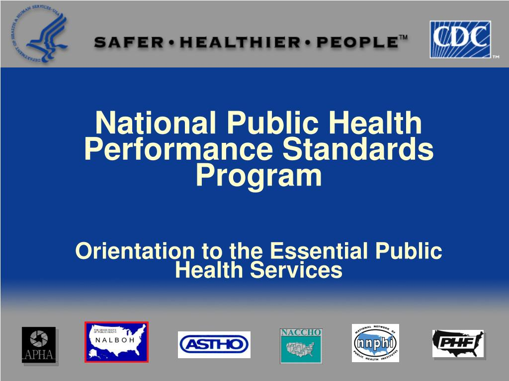 National Public Health Performance Standards Program
