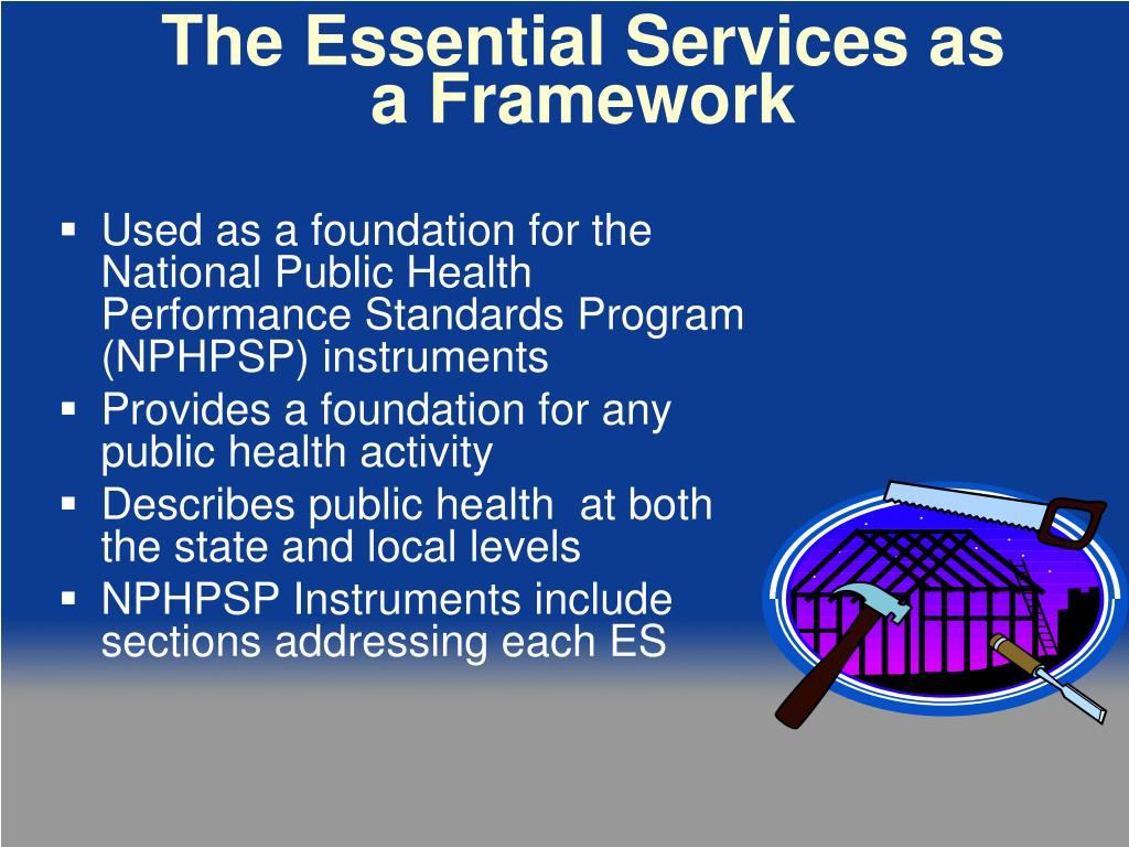 The Essential Services as