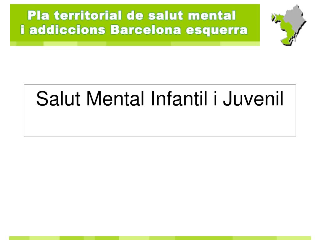 Salut Mental Infantil i Juvenil