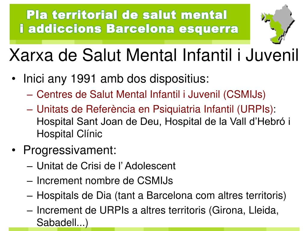 Xarxa de Salut Mental Infantil i Juvenil