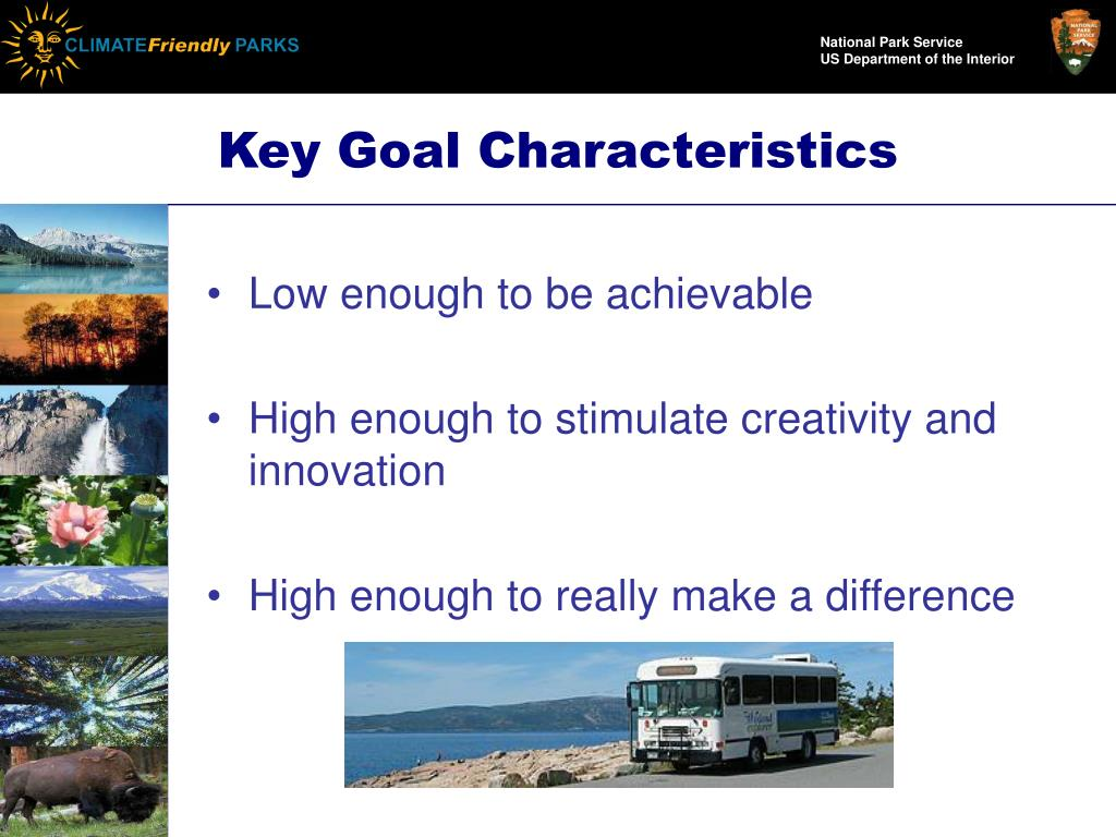 Key Goal Characteristics