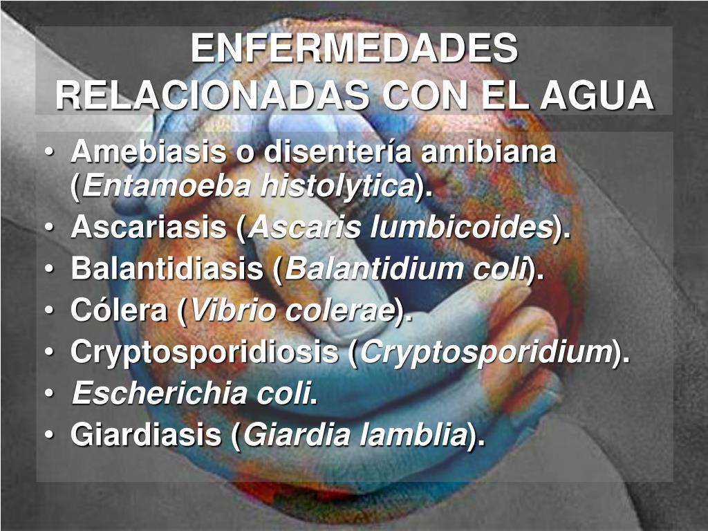 ENFERMEDADES RELACIONADAS CON EL AGUA