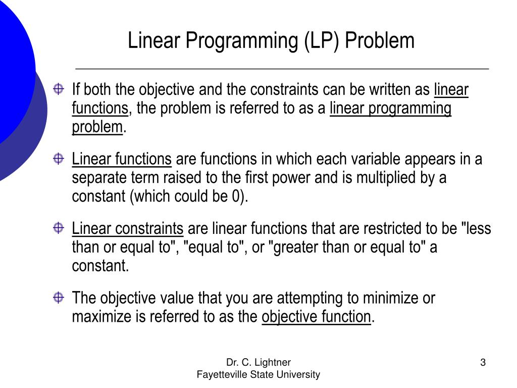 an introduction to linear programming This course is an introduction to linear optimization and its extensions emphasizing the underlying mathematical structures, geometrical ideas, algorithms and solutions of practical problems the topics covered include: formulations, the geometry of linear optimization, duality theory, the simplex method, sensitivity analysis, robust optimization, large scale optimization network flows.