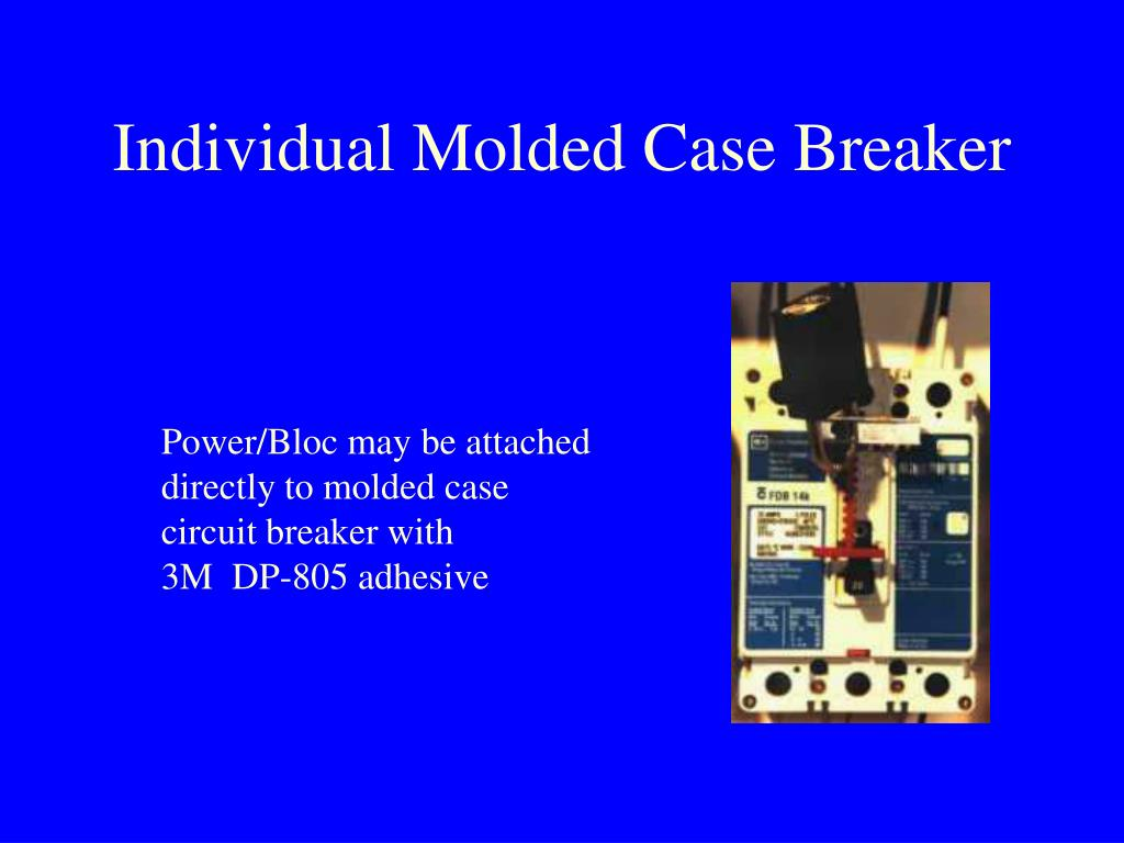 Individual Molded Case Breaker