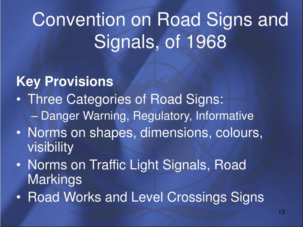 Convention on Road