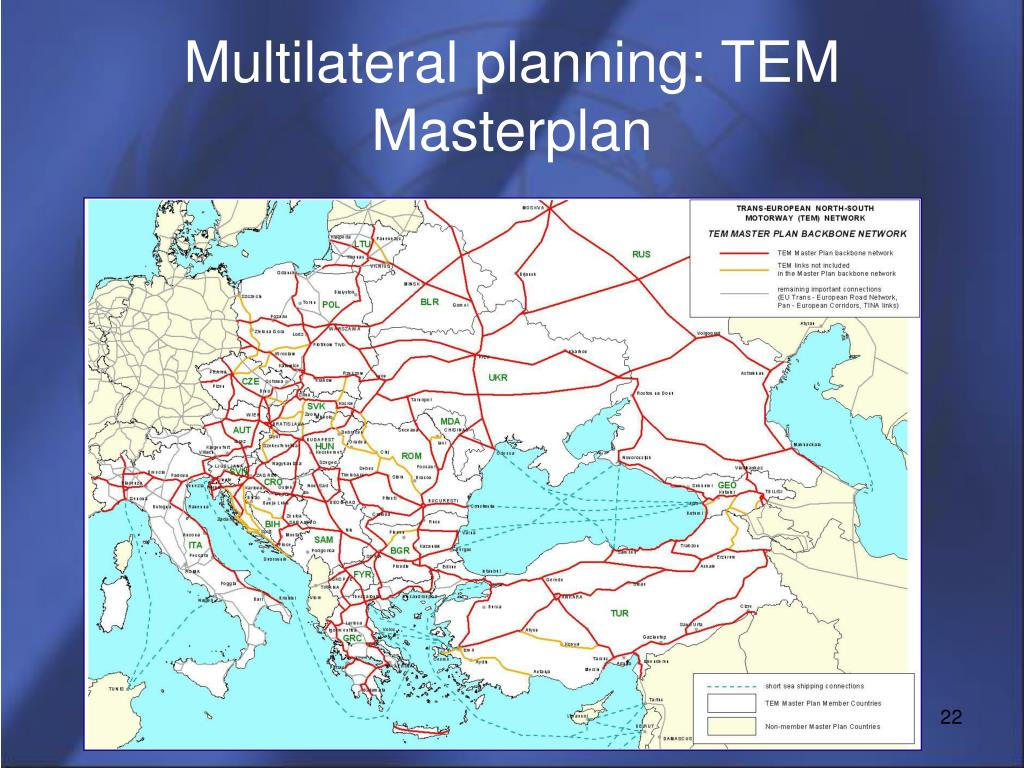 Multilateral planning: TEM Masterplan